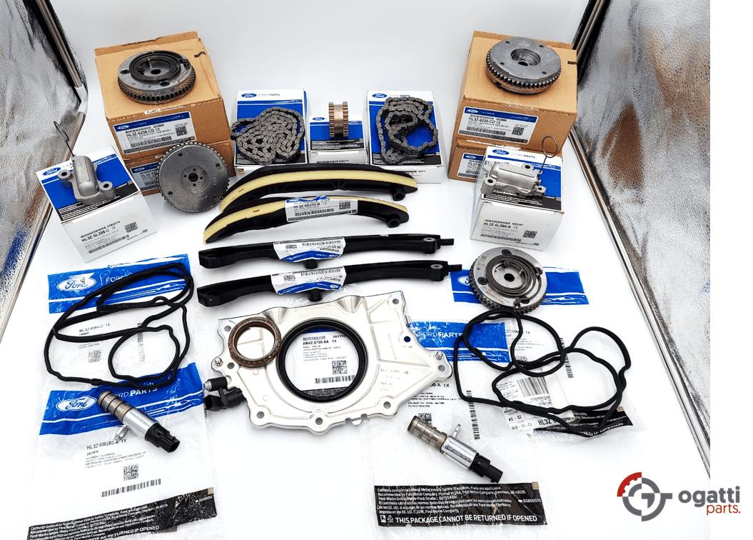 Brand New OEM Timing Chain Kit 3.5L DOHC TURBO, 19 Pieces, Engine Repair Kit (OG-60-3.5LT-19-1)