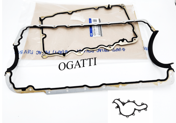 Brand New OEM Gasket Valve Cover and Gaskets – Oil Pan 4.0L, 3 Pieces Engine Repair Kit (OG-60-4.0L-3-6)