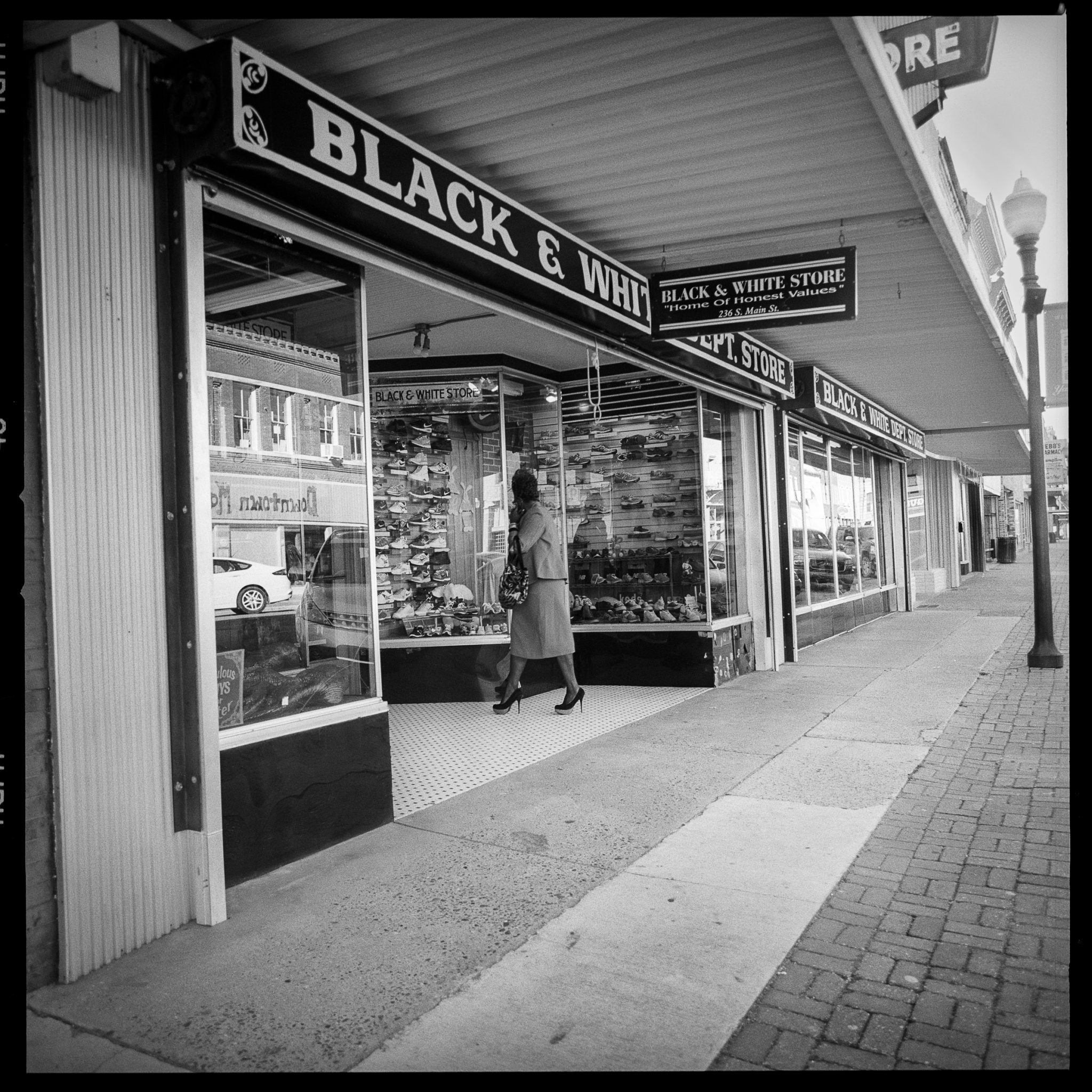 Betty Press Black and White Department Store Yazoo City
