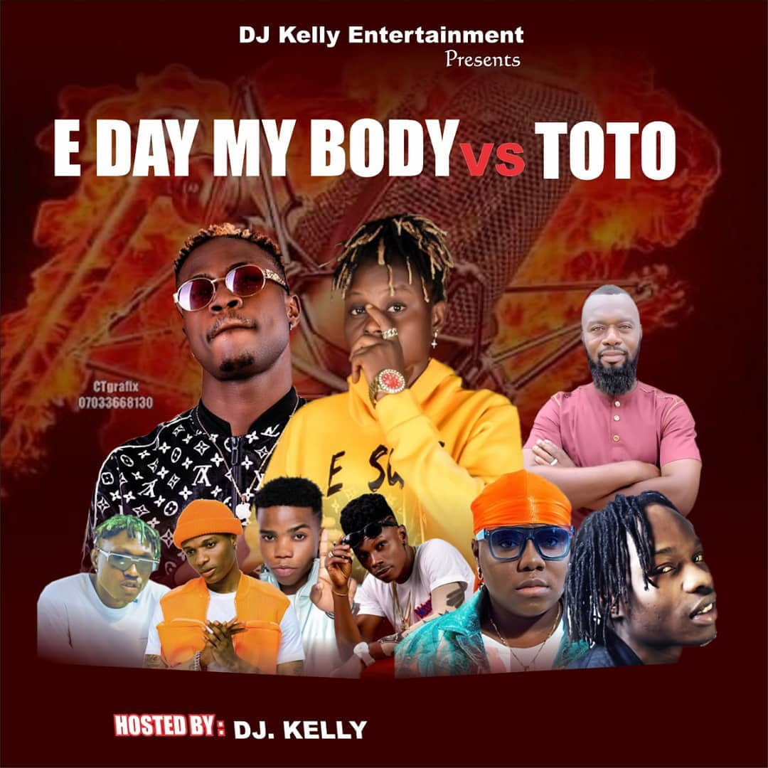 Download Mixtape: Dj Kelly – E Sure 4 Me vs TOTO
