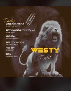 Twest - Westy Ep Tracklist