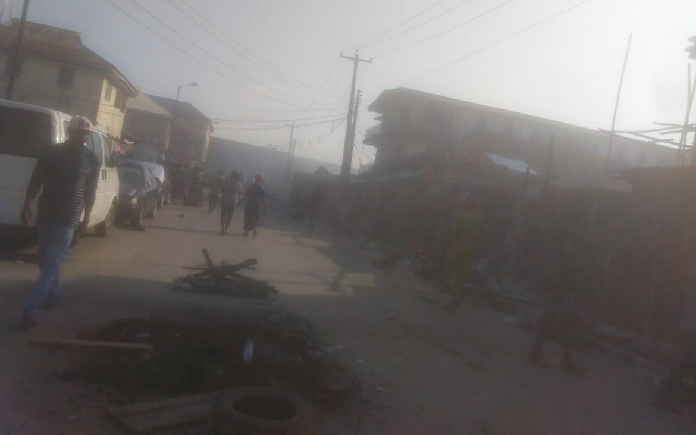 6 KILLED, MANY INJURED; SOMOLU ALADE MARKET, AND POLICE STATION SET ABLAZE BY