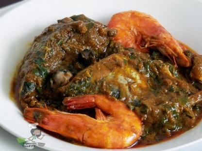 Abak Mbakara Soup