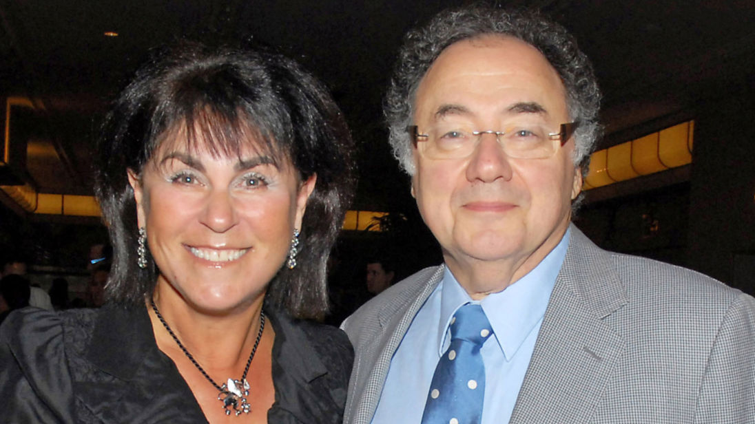 Honey and Barry Sherman, Chairman and CEO of Apotex Inc., are shown at the annual United Jewish Appeal (UJA) fundraiser in Toronto