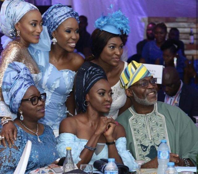 more photos from the n10million white wedding of olu jacobs and joke silvas son photos 6 1 1245003002