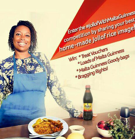 LET THAT JOLLOF RICE WIN YOU MOUTHWATERING MALTA GUINNESS GOODY BAG