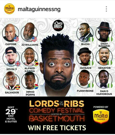 LORDS OF THE RIBS COMEDY FESTIVAL
