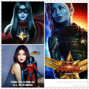 BEAUTEOUS ACTRESS~GEMMA CHAN SET TO ACT AS MINNERVA IN CAPTAIN MARVEL MOVIE