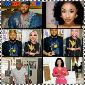 """TONTO DIKE AND OLAKUNLE CHURCHILL """"NA LOVE FIGHT UNA THEY ALWAYS FIGHT!"""""""