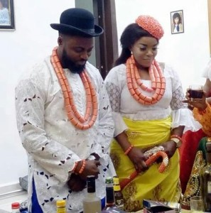 MORE IMAGES FROM ACTRESS~EMPRESS NJAMAH'S TRADITIONAL MARRIAGE