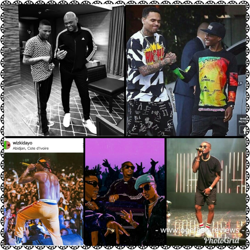 You are currently viewing WIZKID IS PROUD, HE SHOWS OFF HIS INTERNATIONAL…
