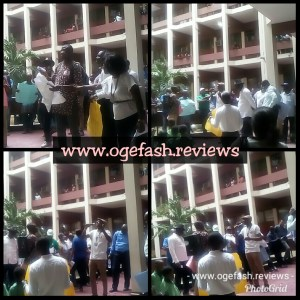 (+VIDEO) UNILAG ON FIRE!