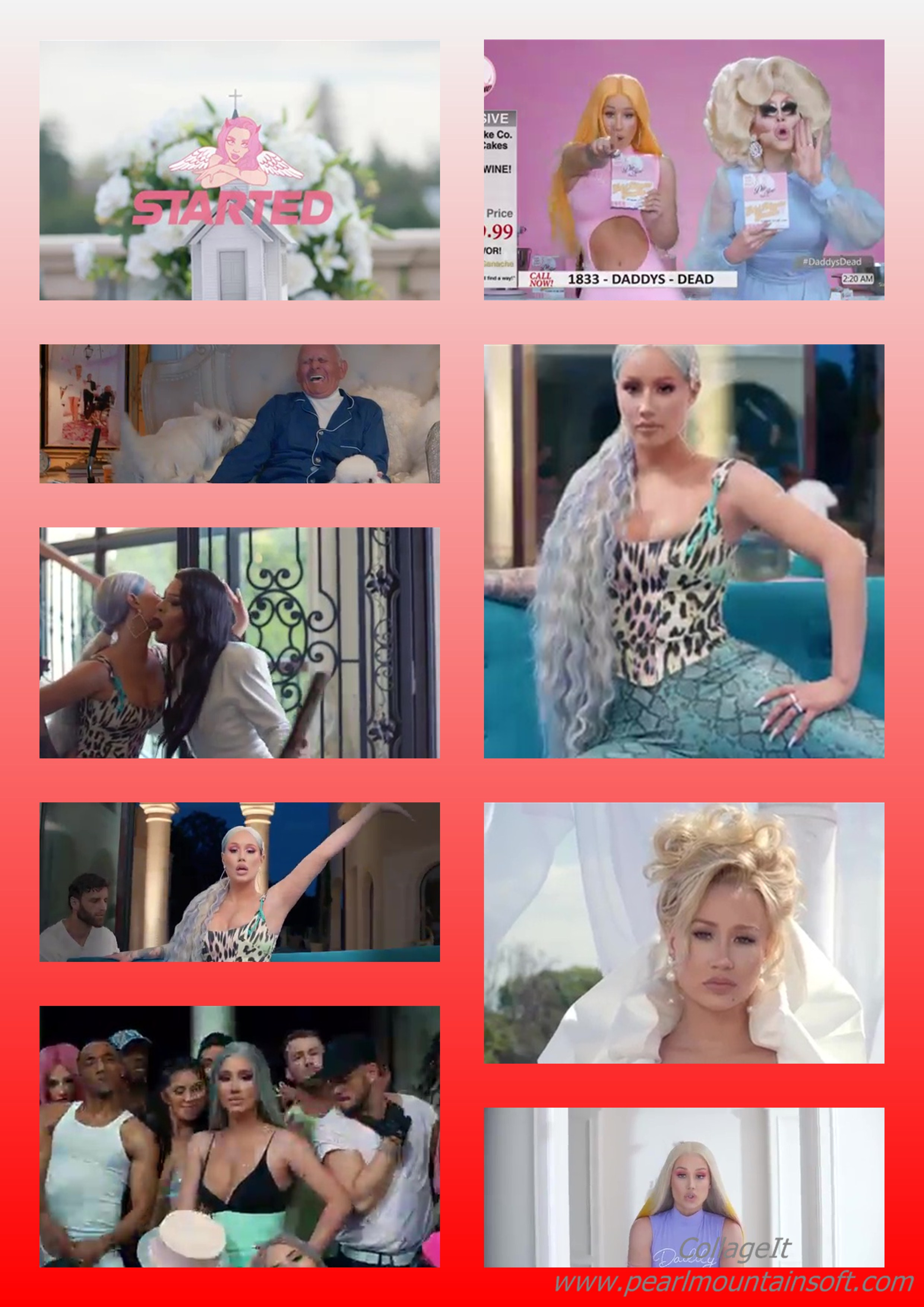 """(+LYRICS+TRANSLATION+MEANING) MUSIC REVIEW: STARTED BY IGGY IZILEA """"WHAT EXACTLY IS THE MORAL IN THIS IGGY'S VIDEO?'"""