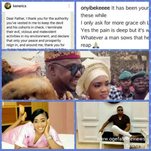 Read more about the article HUSBAND~ KEN ERICS AND WIFE~ONYI ADABA USE PRAYERS TO ATTACK EACH OTHER