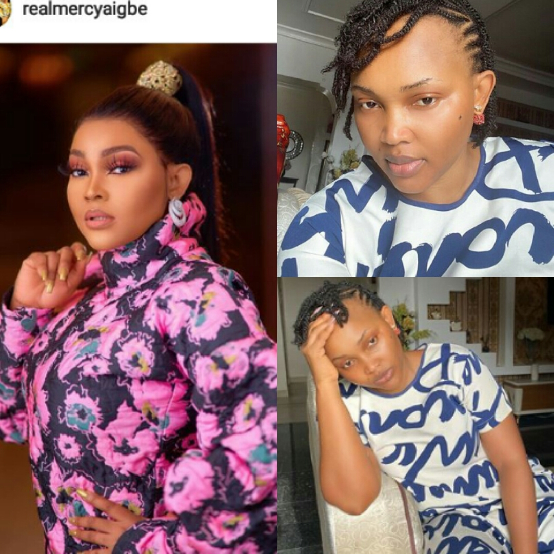 """STAY HOME DIRECTIVE HAS AFFECTED NOLLYWOOD ACTRESS """"MERCY AIGBE'S BEAUTY!"""
