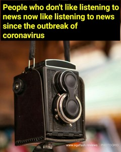 Read more about the article PEOPLE WHO DON'T LIKE LISTENING TO/WATCHING NEWS NOW LIKE LISTENING TO NEWS SINCE THE OUTBREAK OF CORONAVIRUS DISEASE