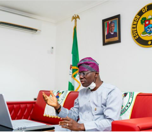 WHY THAT STARTLING LOOK FROM LAGOS STATE GOVERNOR~ JIDE SANWOOLU? ARE THERE NEW ALARMING REPORTED CASES OF CORONAVIRUS?