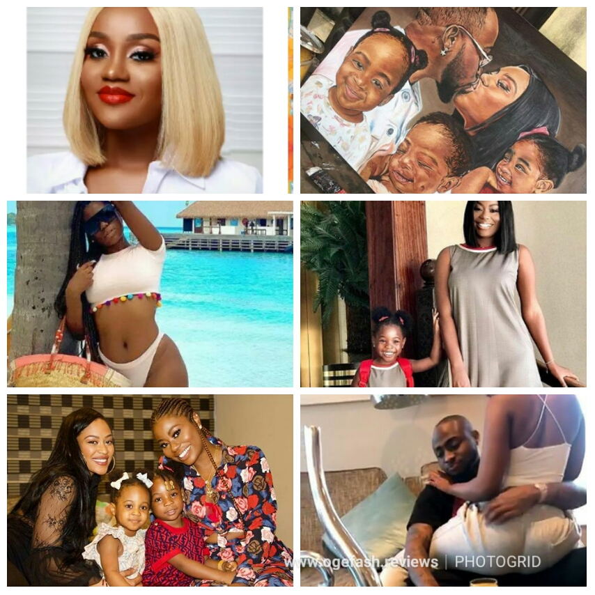 HERE ARE DAVIDO'S WIFE, EX CONCUBINES, BABY MAMAS, HIS TWO DAUGHTERS AND SON! VIEW WHO'S THE HOTTEST AMONG ALL…