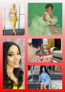 JANELL ADEEYO, THE PRETTY DAUGHTER OF NOLLYWOOD ACTRESS~BUKOLA ADEEYO LAUNCHES KIDDIES FOOTWEARS ON HER 3RD BIRTHDAY