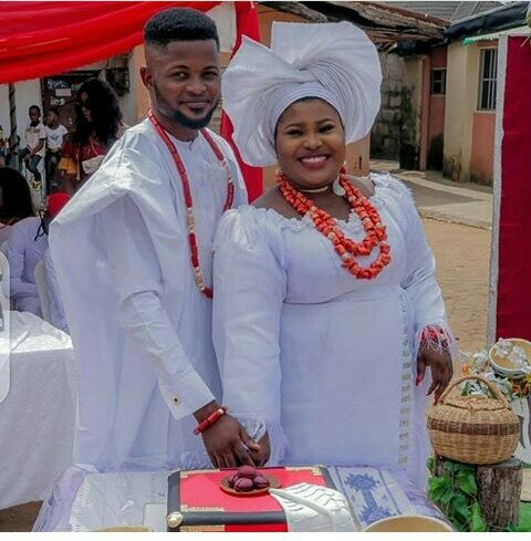 VIEW MORE PICTURES FROM BEAUTIFUL GOSPEL SINGER- JUDIKAY'S TRADITIONAL MARRIAGE IN THE EAST!
