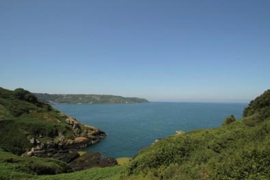 zicht op Bouley Bay