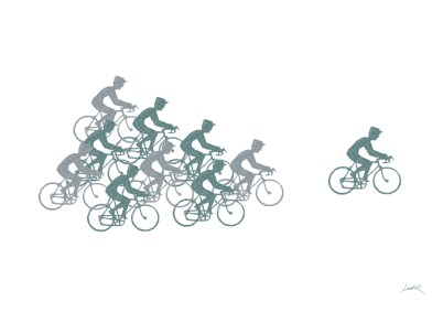 44. Green - bicycles