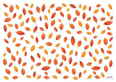37. Red - leaves