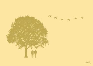 29. Yellow - tree