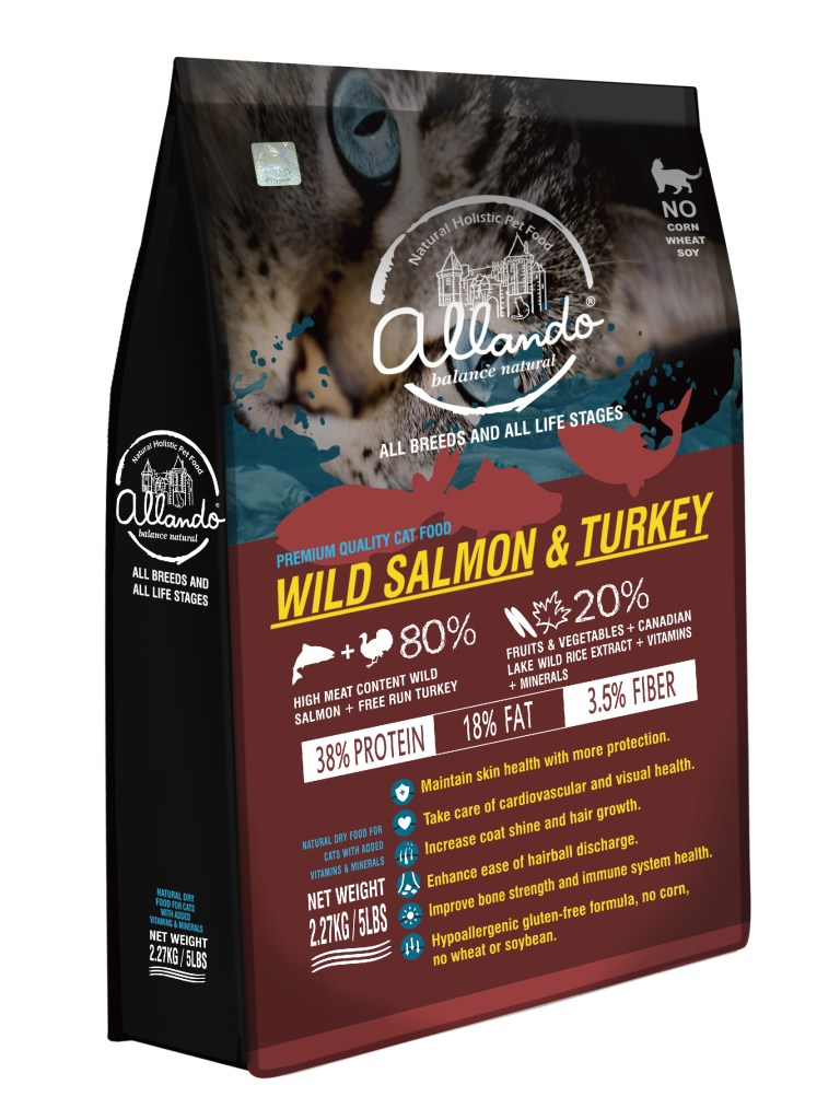 野生鮭魚+火雞肉