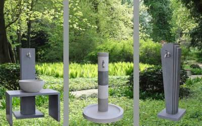 Wasserzapfsäulen für den Garten