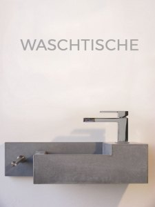 OGGI-Beton: Beton-Waschtische