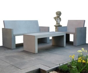 OGGI-Beton: Betonmöbel für den Garten