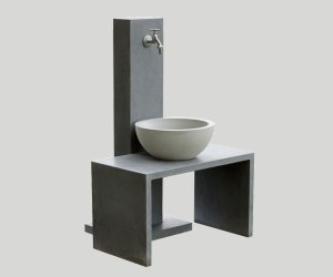 OGGI-Beton: Wasserzapfstelle