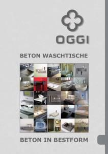 OGGI-Beton: Katalog-PDF Betonwaschtisch