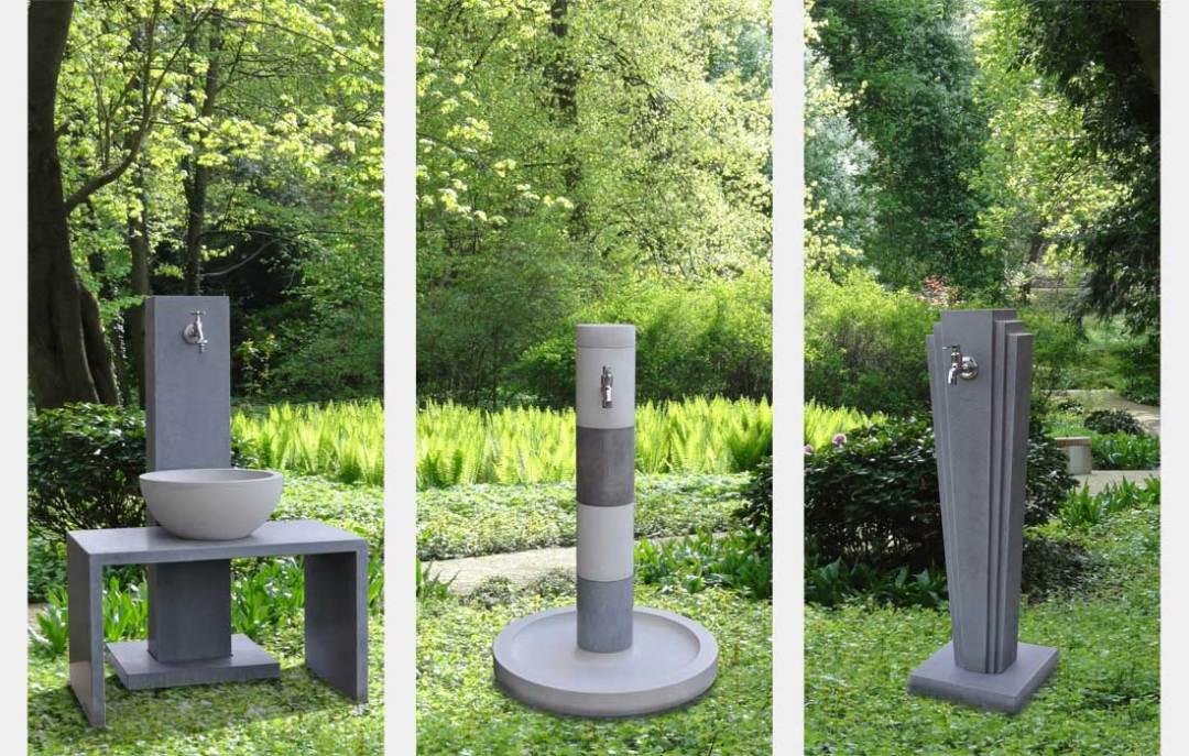 OGGI-Beton: Wasserzapfstellen in Parksituationen