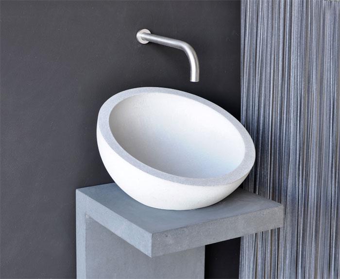 Aufsatzwaschbecken Kumiko Oggi Beton