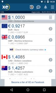 app cambio valuta