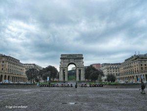 Piazza della Vittoria Genova