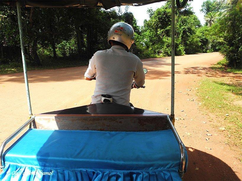 Come visitare Angkor, tuk-tuk