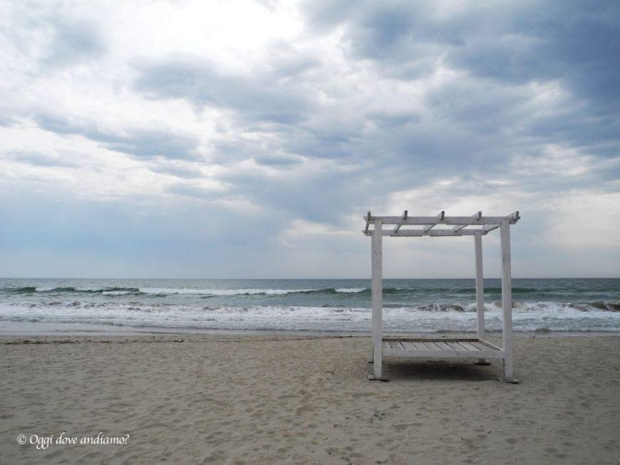 La spiaggia di Kranevo