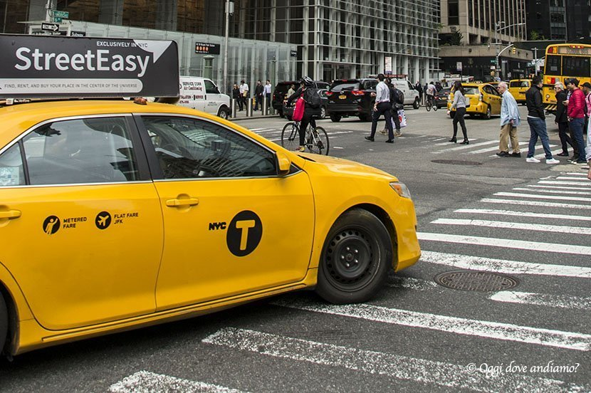 Come muoversi a New York - taxi