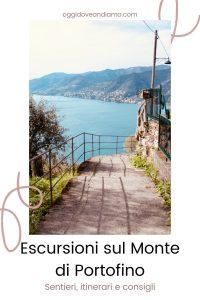 """Copertina per Canva """"Escursioni sul Monte di Portofino: sentieri, itinerari e consigli"""""""