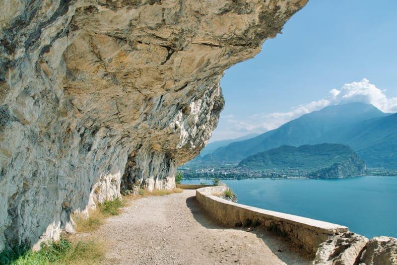 Il sentiero da Riva del Garda a Pregasina