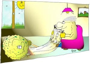 Una vignetta di Franco Gambale