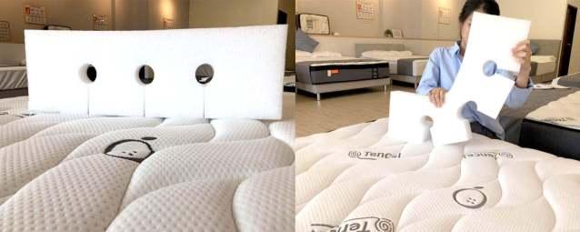 橘家床墊獨家epe護邊床墊可折設計