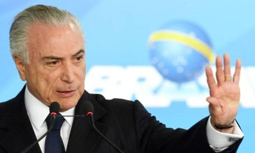 Resultado de imagem para Avião presidencial é preparado para eventual ida de Temer para São Paulo