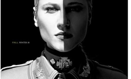 """Resultado de imagem para A marca de roupas femininas Lança Perfume, de Criciúma, no Sul do país, foi acusada por internautas de fazer referência ao nazismo em sua nova coleção, chamada """"Uma noite em Berlim"""". Algumas peças da marca fazem alusão a uniformes militares e foram estampadas com a Cruz de Ferro, um símbolo que, embora não tenha sido criado pelos nazistas, acabou sendo apropriado pelo regime. A marca, por sua vez, nega que as roupas façam apologia ao nazismo."""