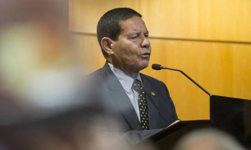 O vice-presidente Hamilton Mourão Foto: Edilson Dantas / Agência O Globo