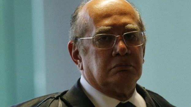 Gilmar Mendes, ministro do STF, pediu investigação sobre a atuação da Receita Federal. Foto: Jorge William / Agência O Globo