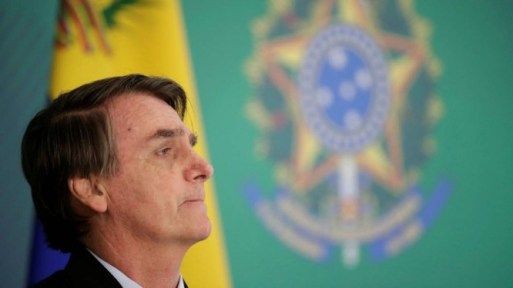 O presidente Jair Bolsonaro Foto: UESLEI MARCELINO / REUTERS